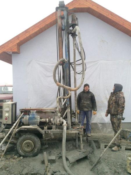 Foraje Pompe Caldura